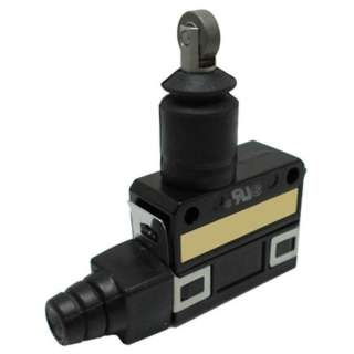 LIMIT SWITCH 1P2T NO/NC 45X23MM ROLLER/PLUNGER 5A 125VA
