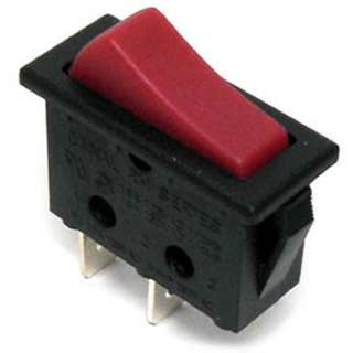 ROCKER SWITCH 1P1T 16A ON-OFF 125VAC QT 11X30MM ACTUATOR RED