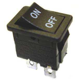 ROCKER SWITCH 2P1T 12A ON-OFF 125VAC QT 13X20MM BLK