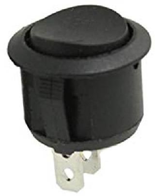 ROCKER SWITCH 1P2T 10A ON-OFF-ON 125VAC QT ROUND 19MM SNAP-IN