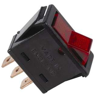 ROCKER SWITCH LIT 1P1T 20A ON- OFF 12VDC QT 11X28MM ACTU RED