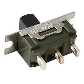 SLIDE SWITCH 1P2T ON-ON SOL 3A@125VAC