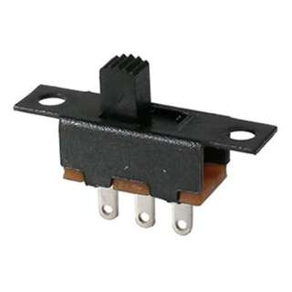 SLIDE SWITCH 1P2T ON-ON SOL 5X11MM .3AMPS @ 125VAC