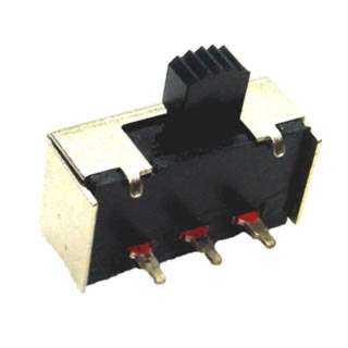 SLIDE SWITCH 1P2T ON-ON PCRA 10X20MM