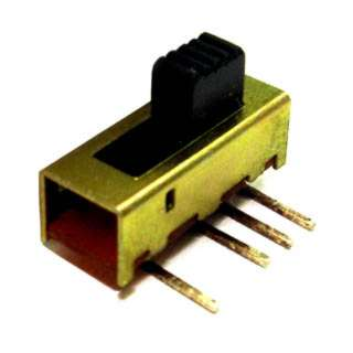 SLIDE SWITCH 1P3T ON-ON-ON PCRA 2LS 6X15.5MM