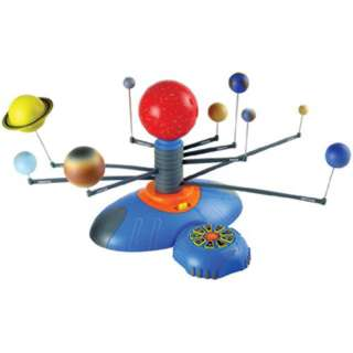 SOLAR SYSTEM ROTATES AUTOMATIC REQUIRES 4AA BATTERIES