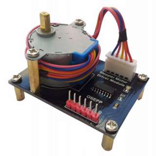 STEPPER MOTOR 4 PHASE & DRIVER MODULE