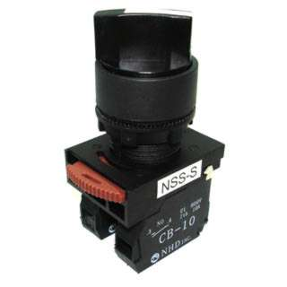 SELECTOR SWITCH NO/NC 2 POS 6A 10A 600V
