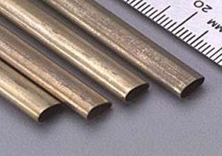 BRASS STREAMLINE TUBE LENGTH:12 INCH