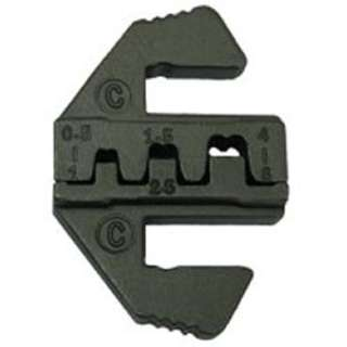 CRIMPER DIE D-SUB OR OPEN BARREL TERMINAL FOR 84-0060-1 CRIMPER