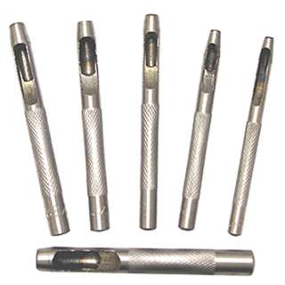 HOLLOW PUNCH 6PC/SET ASSORTED 