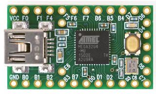 TEENSY2.0 USB DEVELOPMENT BOARD WITH ARDUINO SOFTWARE