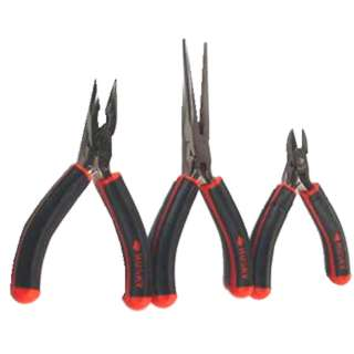 PLIERS MINI SET OF 3 PCS NOSE/NEEDLE/DIAGONAL