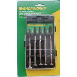 NUT DRIVER 5PC/SET PRECISION 3MM 3.5MM 4MM 4.5MM 5MM
