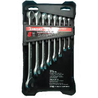 WRENCH OPEN & CLOSE END SAE 8PCS/SET ASSORTED SIZES