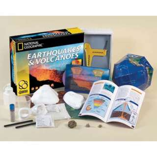 EARTHQUAKES AND VOLCANOES-AGE10+ 