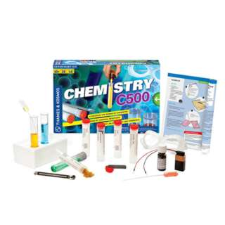 CHEM C500 CHEMISTRY KIT-AGES 10+ CONDUCTS 28 CHEMISTRY EXPERIMENT