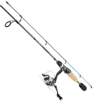 FISHING ROD TACKLE W/4BB REEL COMBO