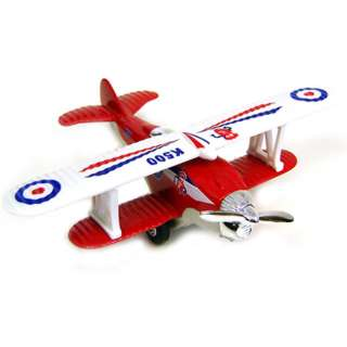 FANCY FLIGHT PULLBACK BIPLANE ASSORTED COLOURS