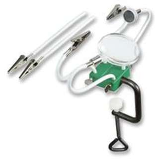 HELPING HAND CLAMPS KIT W/MAGNET MAGNIFIER STAYPUT ARMS
