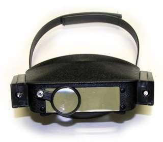 MAGNIFIER HEAD VISOR MULTI POWER WITH 2LENS