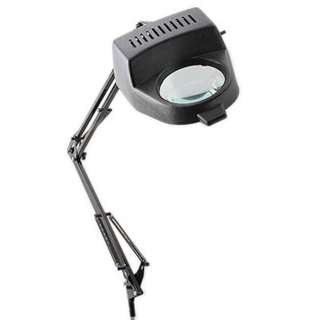 MAGNIFYING LAMP W/SWING ARM BLK 1.75X