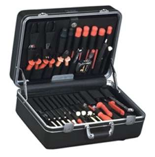 TOOL CASE EMPTY 19X14.2X9.1 PLAS BLACK