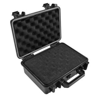 TOOL CASE EMPTY WATERPROOF ABS W/FOAM INSERTS 9.25X7.36X3.74IN