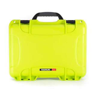 TOOL CASE EMPTY 13.2X9.2X4.1IN FOAM FILLED WATERPROOF LIME