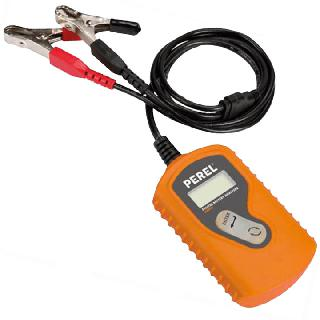 BATTERY TESTER DIGITAL W/ CAR ALLIGATOR CLIPS