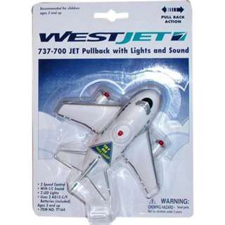 WESTJET CANADA PULLBACK W/LIGHT SOUND