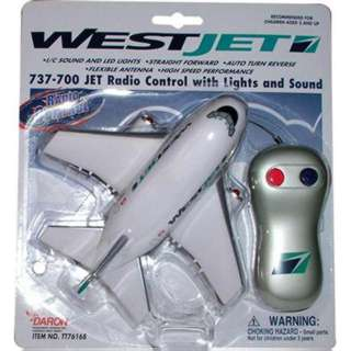 WESTJET RADIO CONTROL AIRPLANE REQUIRES 9V & 2XAA BATTERIES