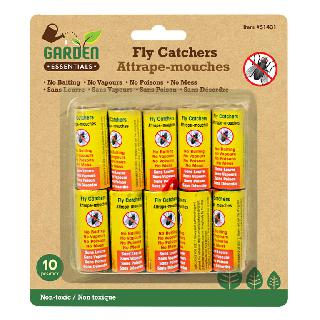 FLY CATCHER RIBBONS 10PCS/PACK NON-TOXIC