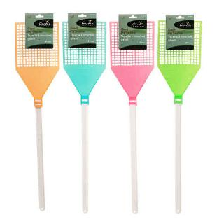 FLY SWATTER 31 INCH ASSORTED COLORS
