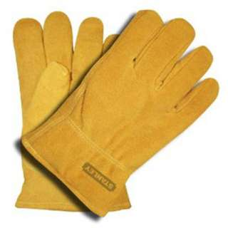 GLOVES LEATHER SPLIT LARGE COWHIDE PILE LINED KEYSTONE THUM