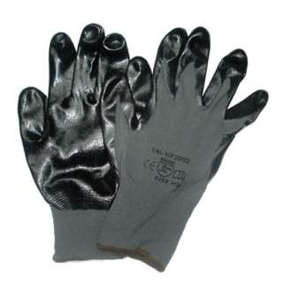 GLOVES NITRILE LARGE GRY GREAT DEXTERITY OIL RESISTANT