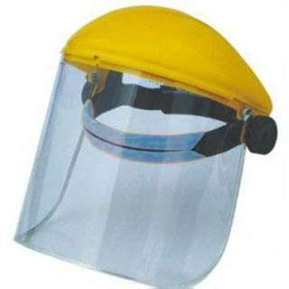 SAFETY VISOR FACE SHIELD CLEAR