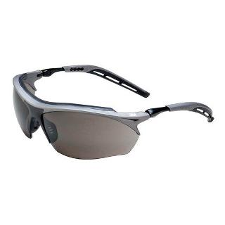 SAFETY GLASS GRAY FRAME W/BLACK ACCENTS ANTI FOG