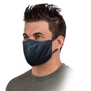 FACE MASK REUSABLE WASHABLE BLK COTTON SUNGFIT