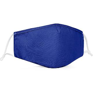 FACE MASK REUSABLE WASHABLE BLUE COTTON SUNGFIT