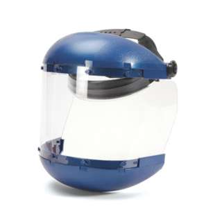 FACE SHIELD BLUE CROWN AND CHIN GUARD PROTECTION