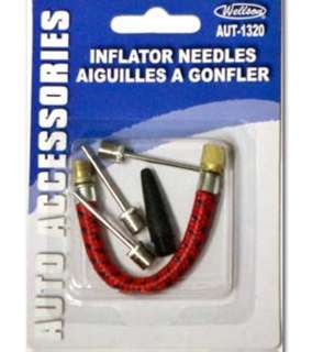 AIR PUMP INFLATOR NEEDLES KIT 5PC/SET