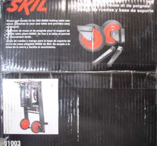 WHEEL AND STAND FOR SAW TABLE FOR SKIL MODEL 80092