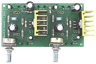 STEREO AMPLIFIER 20W - ASSEMBLED 