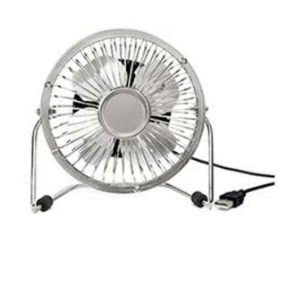FAN MINI USB POWERED DESKTOP SILVER