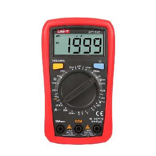 MULTIMETER DIGITAL 10A HANDHELD TEMP HOLD BACK