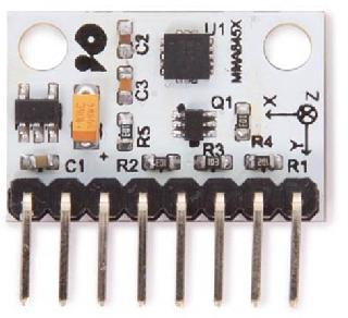 ACCELERATION SENSOR MODULE 3-AXIS DIGITAL MMA8452