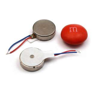 MOTOR VIBRATING DISK 3V 12000RPM 1G VIBRATION 80MA