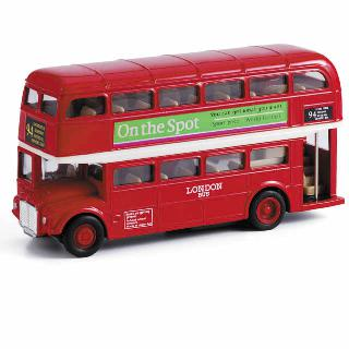 LONDON BUS PULL-BACK 