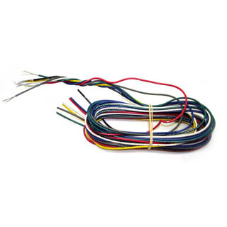 WIRE STRANDED 22AWG 5FT 7COLORS 